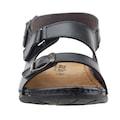Aryan M12-006 Günlük Anatomik Erkek Sandalet Terlik SİYAH