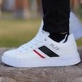 Beyaz Erkek Spor Ayakkabı - Günlük Ayakkabı - Marco Jamper