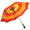 Baston Şemsiye Rengarenk Turuncu Tonlarında Kaliteli