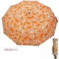 Rubenis TAM OTOMATİK 10 Telli 11 Desen Seçeneğiyle Bayan Şemsiye