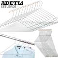Metal Elbise Askısı Askılık 12-24-36 Adetli Setlerde DE122