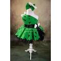 Çakmaktaş Çakıl Kız Çocuk Kostüm Yeşil