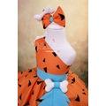 Çakmaktaş Çakıl Kız Çocuk Taş Devri Kostümü