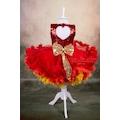 Kırmızı Pofuduk Kostüm & Elbise