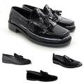 Klasik Günlük Deri Erkek Ayakkabı Modelleri Rugan Süet Hasır