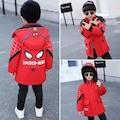 Erkek Çocuk Spider-Man Armalı Kırmızı Mont