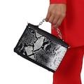 Çanta Sanatı,Jasmin Siyah Yılan Bayan Çantası,Kadın Çanta MY042
