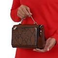Çanta Sanatı,Jasmin Taba Yılan Bayan Çantası,Kadın Çanta MY042