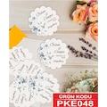 Şekilli Etiket - Söz, Nişan, Kına, Nikah, Düğün Etiketi