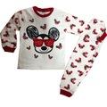 Kız Ve Erkek Çocuk 4-6 Yaş Mickeyli Pijama Takımı