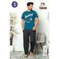 Erkek %100 Pamuk Pijama Takımı - Babalar Gününe Özel