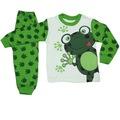 Erkek ve Kız Çocuk 1-3 Yaş Kurbağa Modelli Pijama Takımı
