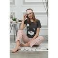 Kadın Pamuklu Mevsimlik Bayan Pijama Takımı 900001