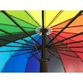 Gökkuşağı Şemsiye 16 Telli 112 cm Açık Çap Çoban Şemsiye