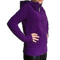 6 RENK Kadın Eldivenli Polar Sweatshirt