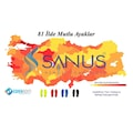 Sanus 100 Model  Visco Memory Foam Spor Unisex Tabanlık