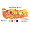 Sanus M300 Visco Memory Foam Günlük Unisex Unisex Tabanlık