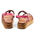 Cabani Günlük Sandalet Pembe Deri