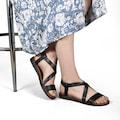 Muco 02022 Ortopedi Günlük Kadın Sandalet/Rahat Bayan Sandalet