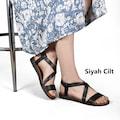 Bayan Sandalet / Kadın Rahat Günlük Terlik Sandalet KAMPANYA