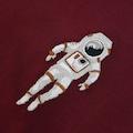WEARE2 Astronot Nakışlı Erkek T-Shirt