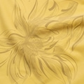 Cottonland LYDIA Kadın Lycra Uzun Kol Baskılı T-Shirt SARI