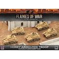 Flames of War BBX32 Honey Armoured Troop (Plastic)
