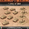 Flames of War ITAB02 Lorenzo's Rams Italian Army Deal