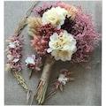 Kuru Gelin Buketi Doğal  Yaka Çiçeği Gelin Tacı Nedime Bilekliği