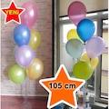 Ayaklı Balon Standı 7 Çubuklu 55 , 75 , 105 , 125 cm Seçenekli