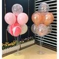 Balon Standı+7 Adet Metalik Renk Seçenekli Balon Hediye