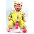 Oyuncak Sesli Gerçek Mimikli Pıtırcık Bebek