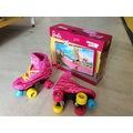 Barbie - Hotwheels Ayarlanabilir 4 Tekerlekli Alıştırma Paten