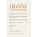 Efil Ekonomi Araştırmaları Dergisi (Efil Journal)