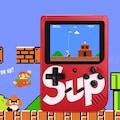 Karne Hediyesi Video Oyun Konsolu 400 Oyunlu mini atari gameboy