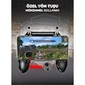 W11+ Pubg Ateşleyici Tetik Joystick Oyun Konsolu Kolu