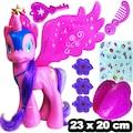 Pony Sevimli Uçan Oyuncak At Sesli Işıklı 23 x 20 cm CE Belgeli