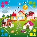 Rainy Day Learned Games 2-3 Yaş Okul Öncesi Eğitici Oyun