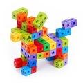 Geçmeli Birim Küpler- Snap Cubes (2x2x2) 100 Adet