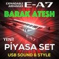 ROLAND Barak Ateş E-A7 USB Sound & Style Piyasa Set