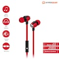 HyperGear Kablolu Kulaklık 3.5 mm - Kırmızı