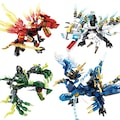 Lego Ninjago Ejderha Ustası Seçenekli Mavi Yeşil Kırmızı
