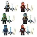 Lego Uyumlu Ninjago Cole Mini Figür Ninja Kai Cole Jay Zane