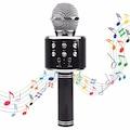 Ws-858 Sihirli Bluetooth Karaoke Mikrofon Usb Kart Girişi
