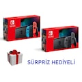 Nintendo Switch Oyun Konsolu PİL ÖMRÜ UZUN OLAN YENİ SERİ  SIFIR