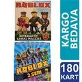 ROBLOX 1. ve 2. SERİ OYUN KARTLARI - 180 KART