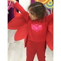 Pj Masks Owlette Pijamaskeliler Model Kız Çocuk Kostümü