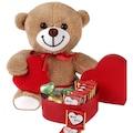 Kalpli Peluş Oyuncak ve Mutlu Yıllar Çikolataları