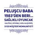 PREMİUM 30CM MAVİ TAVŞAN PELUŞ OYUNCAK, PELUŞCU BABA!