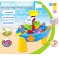 Çocuklar İçin Kum Su Plaj Bahçe Oyuncak Seti
